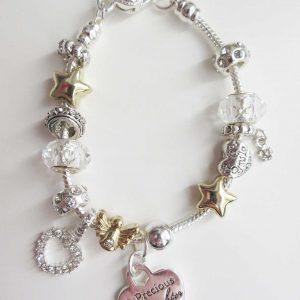Precious Daughter Silver Bracelet