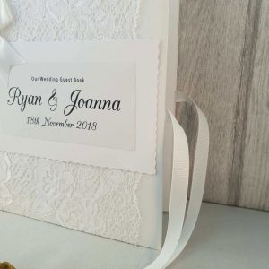 Large Personalised Guest Book