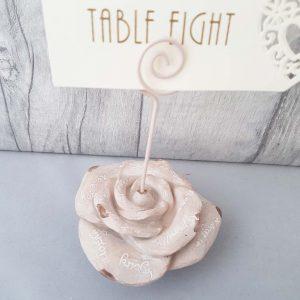 Rose Table Number Holder