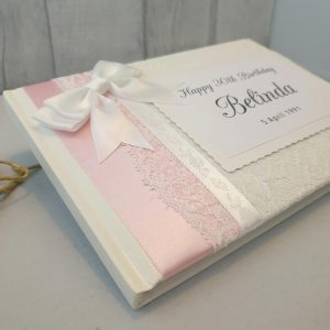 30th Birthday Personalised Guest Book